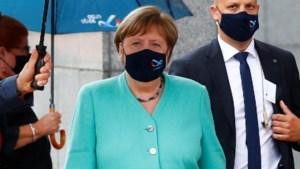 Angela Merkel gaat 'samen voor herstel'