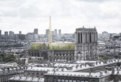 Wilde plannen nieuwe Notre-Dame naar prullenbak verwezen