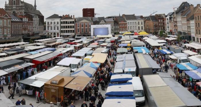 Haspengouw Markt opnieuw helemaal op en rond de Grote Markt