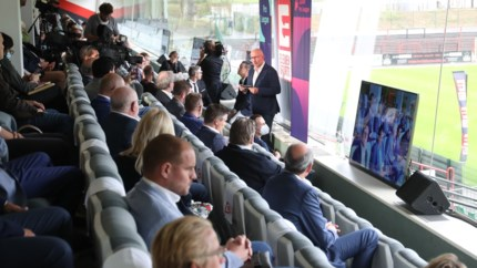"""Belgische voetbal zal voortaan ook te zien zijn bij… KBC: """"Unieke en exclusieve mobiele beleving"""""""