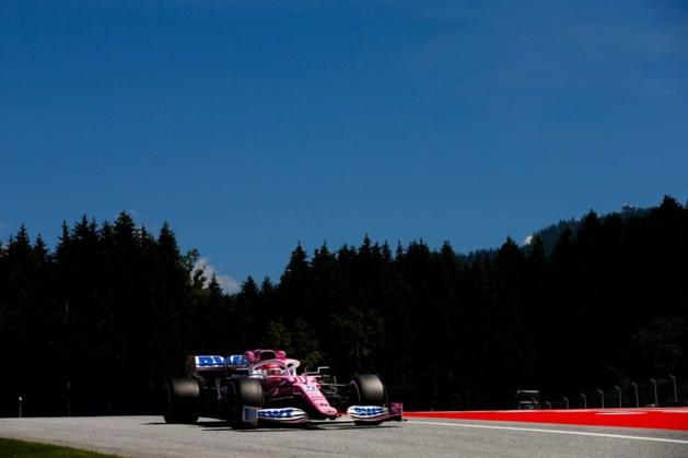 Sergio Perez nipt sneller dan Max Verstappen in 'Oostenrijk'