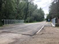 Brug over Warmbeek weer open voor verkeer