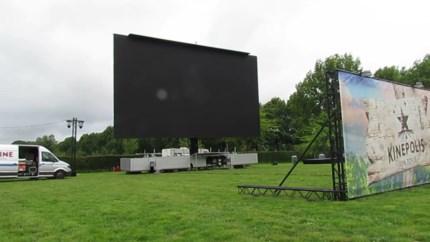 Grootste mobiele cinemascherm ter wereld in Bilzen