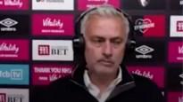 José Mourinho geeft kortst mogelijke interview: één woord en klaar