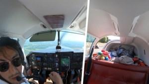 Beangstigende: piloot maakt noodlanding met sportvliegtuigje nadat bagageluik van vliegtuig loskomt