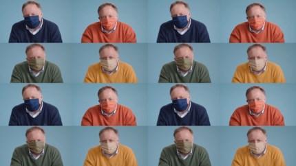 Marc Van Ranst legt uit hoe je een mondmasker moet dragen
