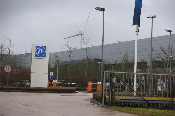 Lichte rookontwikkeling bij ZF Wind Power in Lommel