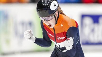 Iedereen was gek op Lara van Ruijven (27), de panter van het Nederlandse shorttrack