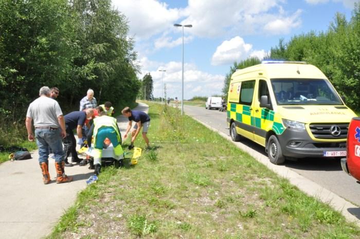 Quadrijder zwaargewond bij ongeval in Voeren