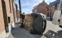Inzittende gewond bij botsing in Rijkel