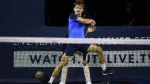 Geen finale voor David Goffin in Ultimate Tennis Showdown