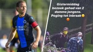 """Ruud Vormer krijgt tijdens oefenmatch twee """"domme"""" inbrekers op bezoek"""