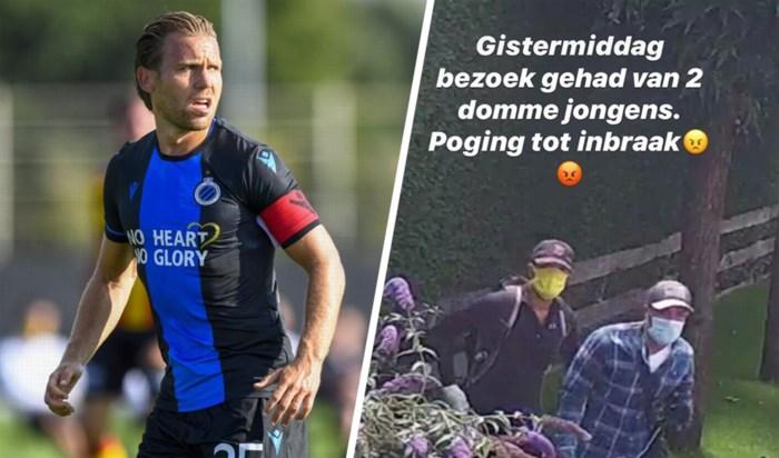 """Ruud Vormer krijgt tijdens oefenmatch met Club Brugge twee """"domme"""" inbrekers op bezoek"""