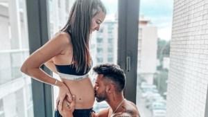 Arda en verleidster Amber uit 'Temptation' verwachten een baby