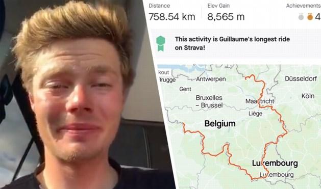 Fietstocht Lommel-Lommel rond Belgische grens mislukt na 758 kilometer