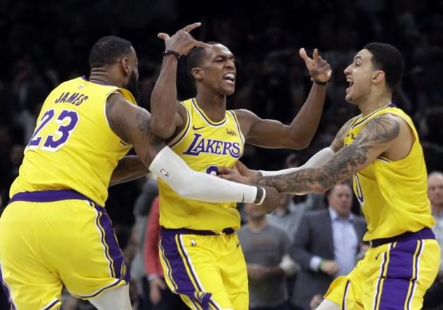 Rajon Rondo (Lakers) is weken buiten strijd met duimbreuk