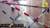 Zijgevel oude cinemazaal stort gedeeltelijk in