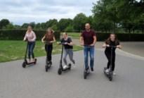 Elektrische steps zoeven door Zuid-Limburg