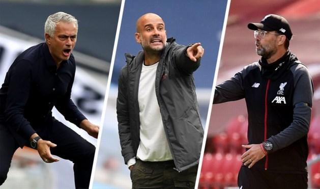 """Klopp en Mourinho spreken schande over vrijspraak Manchester City, Guardiola prikt terug: """"Er is veel achter onze rug gezegd"""""""