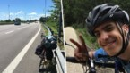 Wanhopige student fietst 48 dagen lang naar huis omdat vlucht werd afgelast