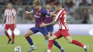 Barcelona kan voor duel met Osasuna weer rekenen op Frenkie de Jong