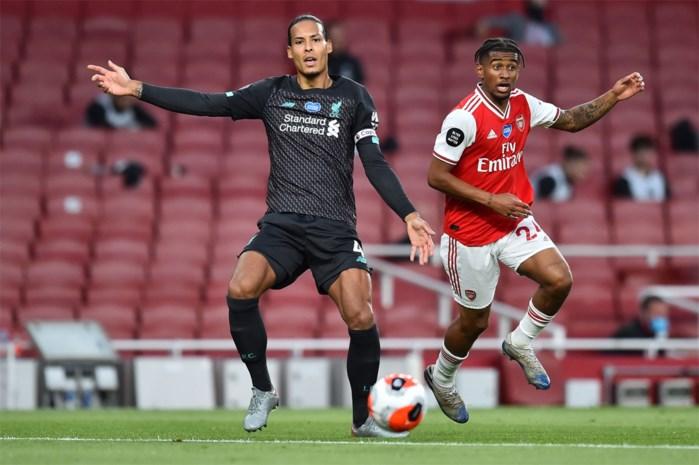 Hij is dan toch menselijk: Virgil van Dijk blundert bij tegengoal Liverpool (dat verliest van Arsenal)