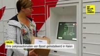 Drie nieuwe pakjesautomaten van bpost in Halen