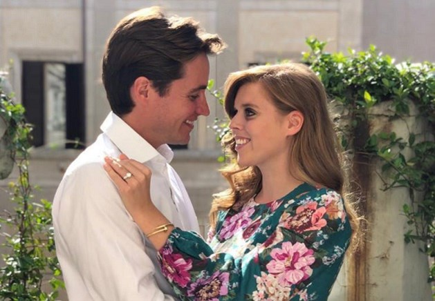 Britse prinses Beatrice in het geheim getrouwd