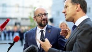 Rutte is te overtuigen man op EU-top over coronamiljarden