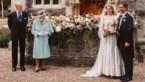 Prinses Beatrice trouwt in jurk en tiara van Queen Elizabeth II