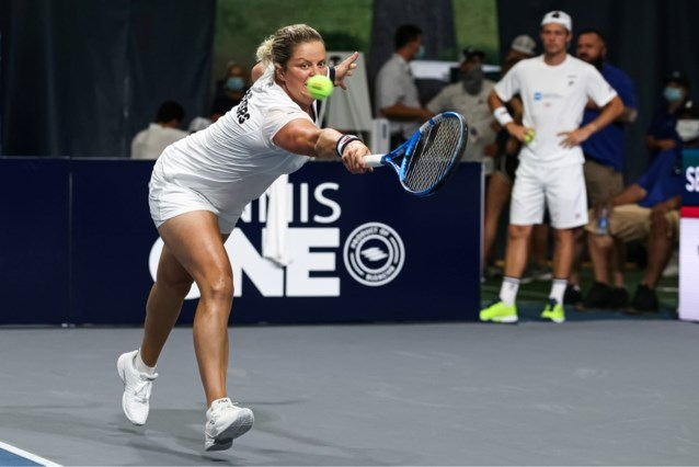 Opnieuw rust voor Kim Clijsters op World Team Tennis