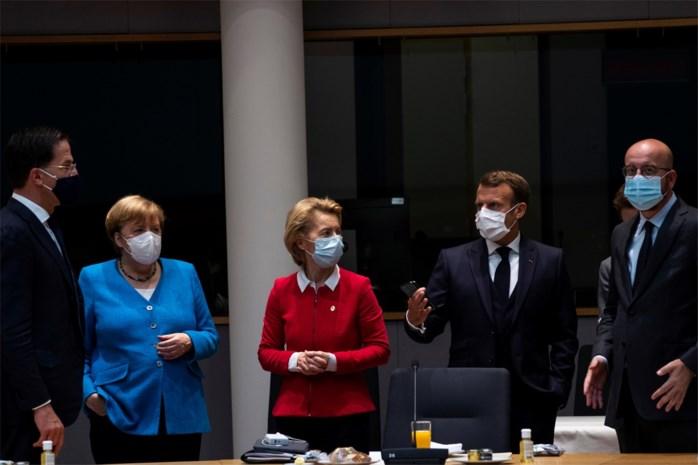 EU-top Brussel: compromis over 'maar' 390 in plaats van 500 miljard euro subsidies