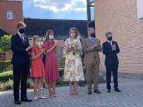 Koninklijke familie bezoekt zwaar getroffen Alkens woon-zorgcentrum Cecilia
