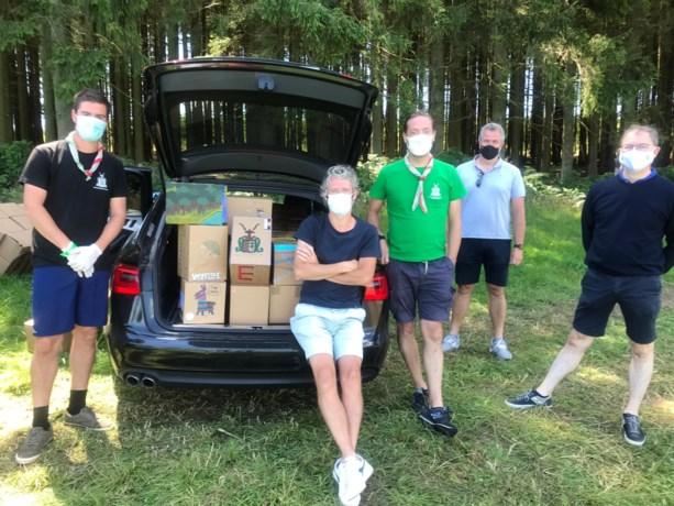 Creatieve bezoekdag bij scouts Sint-Martinus