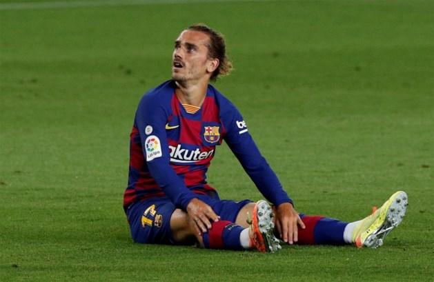 Na de grote misser, de ultieme domper: Antoine Griezmann mist de rest van het seizoen bij FC Barcelona