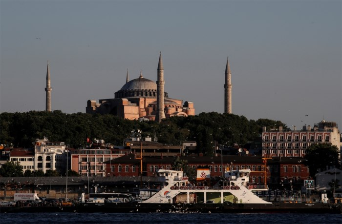 Poetin en Griekse premier bespreken lot Hagia Sophia