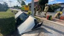 Update: Bestuurster van 90 gewond bij ongeval duiker in Diepenbeek