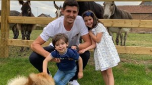 Thibaut Courtois (even) terug in Limburg
