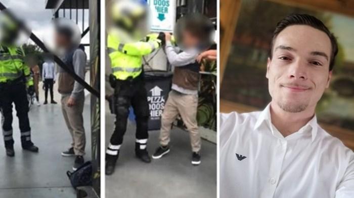 """Man die rake klappen kreeg van politieman reageert: """"Die agent moet ontslagen worden"""""""