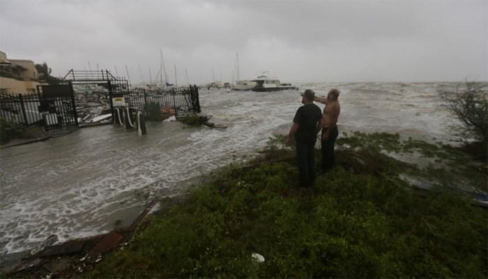 Orkaan Hanna bereikt Texas