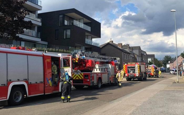 Straat tijdlang afgesloten door spouwmuurbrand in Beringen