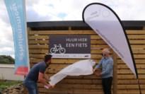 Steven Vanmechelen opent fietsverhuurpunt Schulensmeer