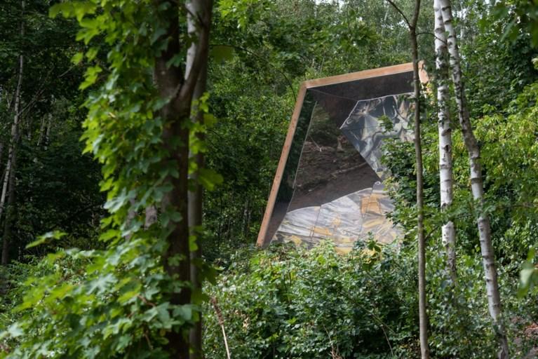 Spiegelpaviljoen, even over de Belgische grens, zet de natuur op zijn kop