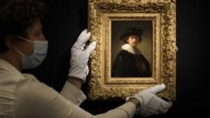 Zelfportret Rembrandt afgehamerd op 16 miljoen euro