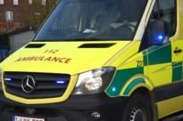 Twee gewonden bij kop-staartbotsing in Bocholt
