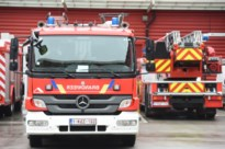 Keukenbrand in appartement langs Delhaize