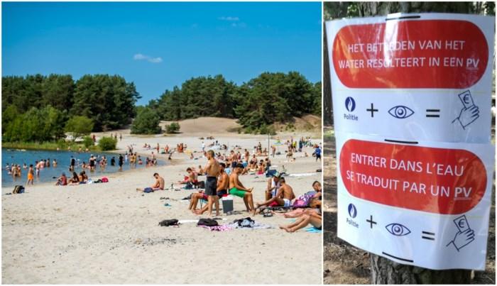 Stad wil strand van Lommelse Sahara afsluiten door grote toestroom toeristen