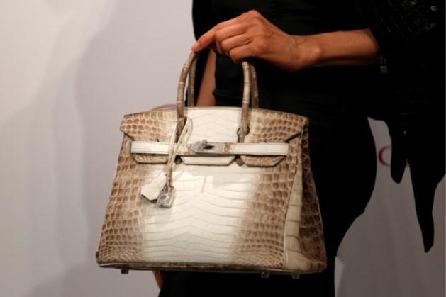 Handtas van Hermès onder de hamer voor 254.500 euro