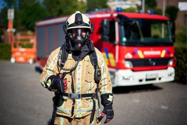 Brandje in afzuiginstallatie van lastoestel
