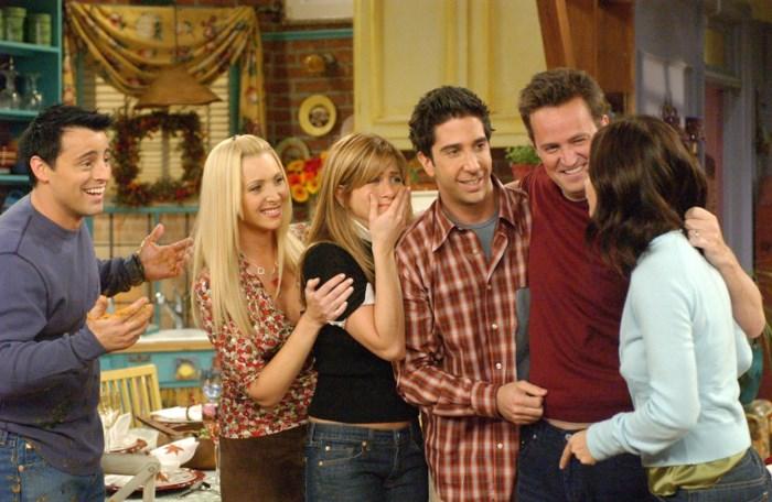 Joey en Chandler moeten op dieet voor 'Friends'-reünie